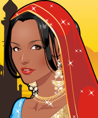 Indian Beauty Make Up Game