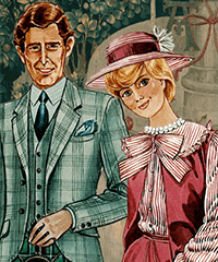 A Royal Romance Princess Diana Dress Up Game