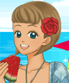 Shoujo Manga Avatar Creator Summer Time