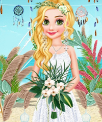 Beach Wedding Planner Dress Up Game