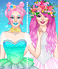 Lady Dove Dress Up Game