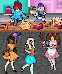 Yummy Market Decorating Design Game