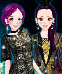 Supermodels 2 Dress Up Game