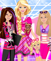 Barbie and Sisters Dress Up Game