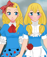 Alice in Wonderland Dress Up and Design Game