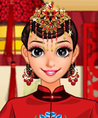 Chinese Bride Dress Up Game