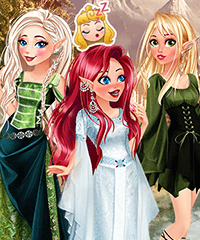 Disney Princess Magical Elf Dress Up Game