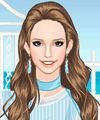 Summer Blue Dress Up Game