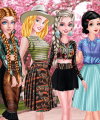 Trend Alert Jungle Dress Up Game