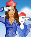 Fashion Studio Sailor Style Dress Up Game