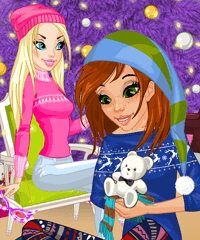 Christmas Gift Little Pony Dress Up Game