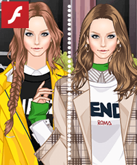 Pretty Pullovers Dress Up Game