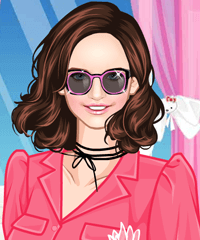Pink Items Dress Up Game